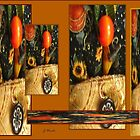 Autumn Pumpkin Harvest Collage by abercot