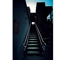 Stairway // Cool  Photographic Print