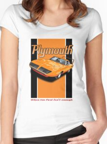 Plymouth Superbird Women's Fitted Scoop T-Shirt