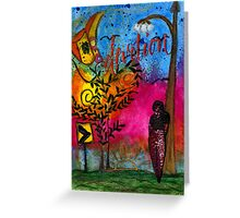 Evening Devotion Greeting Card
