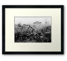 Abandoned Trike Framed Print