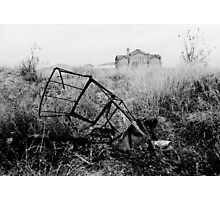 Abandoned Trike Photographic Print