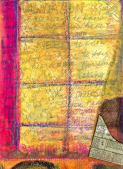 The Journal in My Window by © Angela L Walker