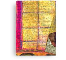 The Journal in My Window Canvas Print