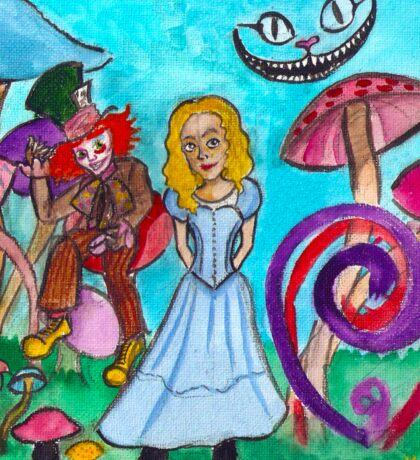 Alice in Movie Land Sticker