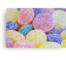 Jelly Tots Canvas Print