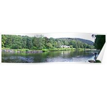 river bank shoot from the river tay Poster