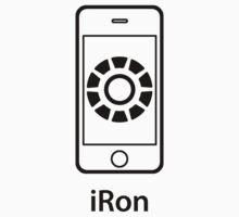 iRon (Man) Black (large image) One Piece - Long Sleeve