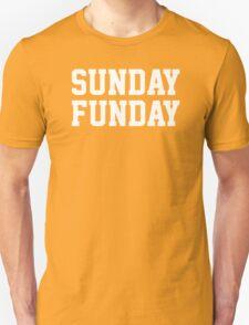 Sunday Funday party funny tee T-Shirt