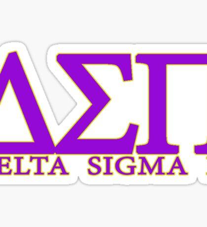 Delta Sigma Pi Sticker