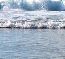 Splashing Sea Sticker