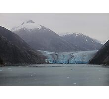 Sawyer Glacier in Tracy Arm Fjord in Alaska .... Photographic Print