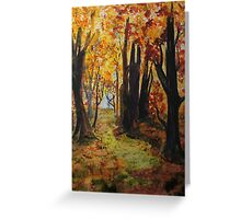 Path to the Edge Greeting Card