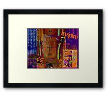 Keep it Simple, INSPIRE Others Framed Print