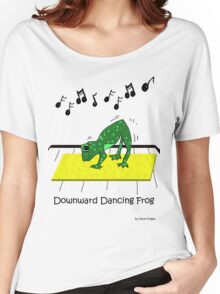 Downward Dancing Frog Yoga Women's Relaxed Fit T-Shirt