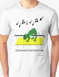 Downward Dancing Frog Yoga T-Shirt