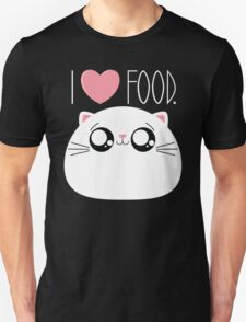 Cats Love Food Unisex T-Shirt