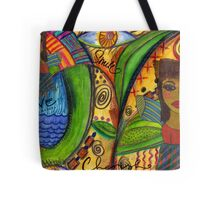 Love Angels Tote Bag