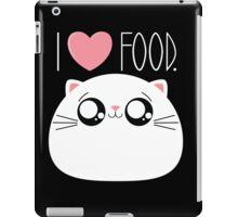 Cats Love Food iPad Case/Skin