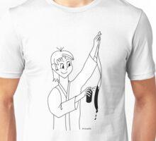 Ceinture noire (Aikidrôle) Unisex T-Shirt