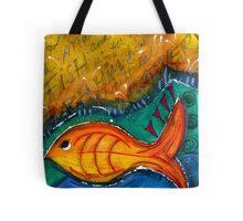 Give A Man A Fish Tote Bag