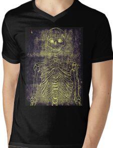 Skelly Mens V-Neck T-Shirt