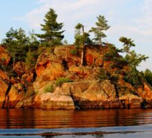 Ox Bay - French River  Sticker