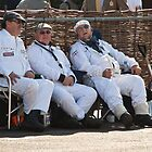 Goodwood Revival 2011, Resting Marshalls by herbpayne