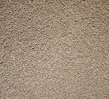 Granular surface of the cement beige by vladromensky