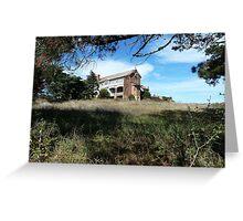 Abandoned orphanage, Goulburn Greeting Card