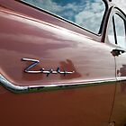 Red Ford Zephyr, Goodwood Revival, 2011 by herbpayne
