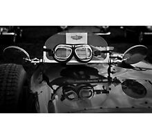 Goggles, Goodwood Revival, 2011 Photographic Print