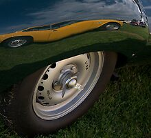 Reflection, Goodwood Revival, 2011 by herbpayne