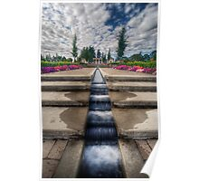 Mausoleum Waterfall Poster