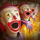 Fairground Clowns by supercamel