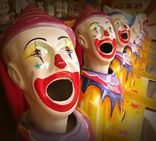 Fairground Clowns by supercamel