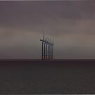 Gunfleet Sands Offshore Wind Farm by Darren Burroughs