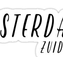Amsterdam - Zuideramstel Sticker