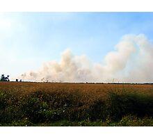 Smoke Signal Photographic Print