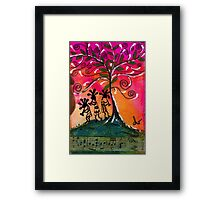 Let's Play Music Framed Print