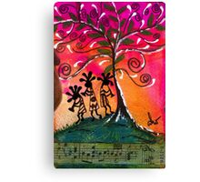 Let's Play Music Canvas Print