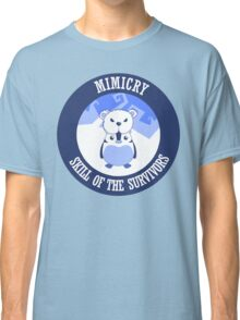 Mimicry, skill of the survivors - Penguin. Classic T-Shirt