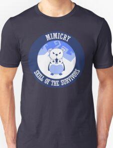 Mimicry, skill of the survivors - Penguin. Unisex T-Shirt
