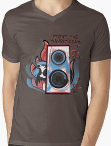 Vinyl Undergound Mens V-Neck T-Shirt