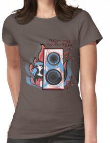 Vinyl Undergound Womens Fitted T-Shirt