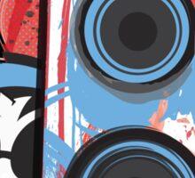 Vinyl Undergound Sticker
