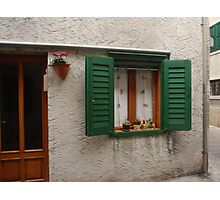 """Miniature"" Window Photographic Print"