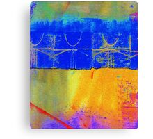 Bright Blue Paves the Way Canvas Print
