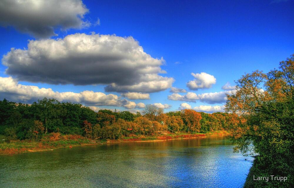 Autumnal Shoreline by Larry Trupp
