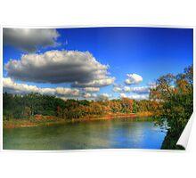 Autumnal Shoreline Poster